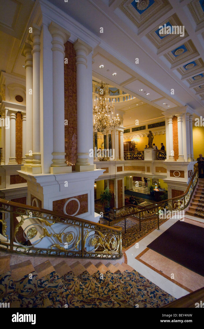 Hotel Interior: Plaza Hotel New York Interior High Resolution Stock
