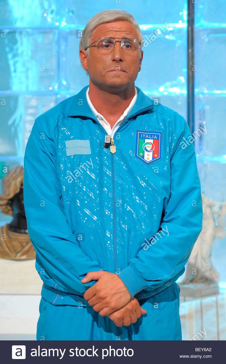 david pratelli, milan 2009, quelli che il calcio tv programme Stock Photo