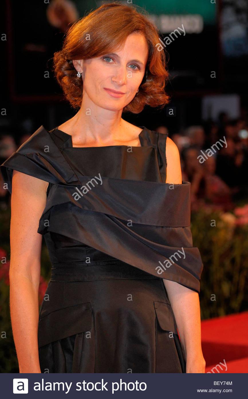 margaret mazzantini, venice 2009, 66th international venice film festival - Stock Image