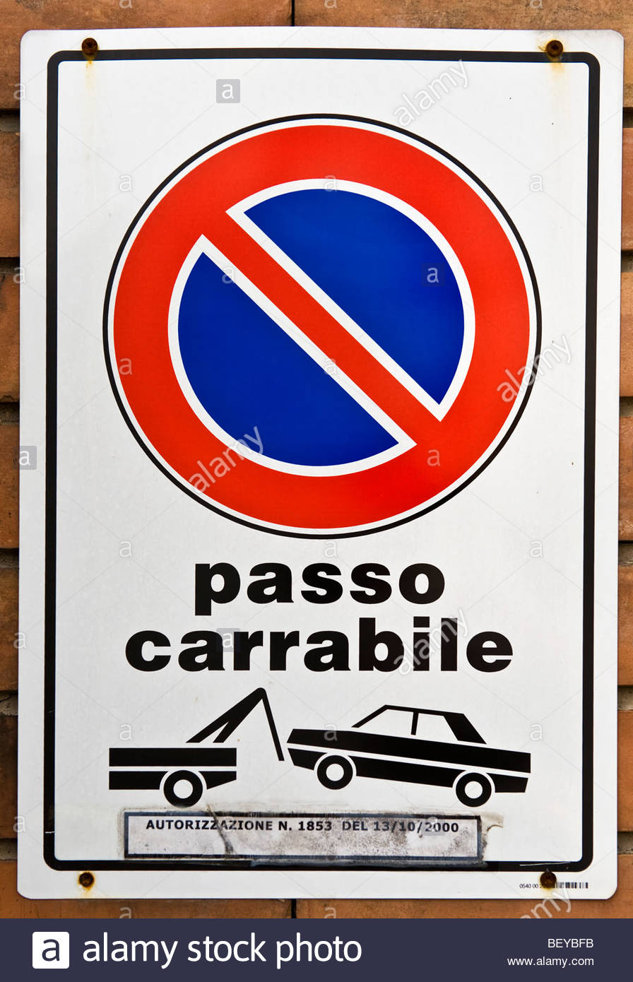 no parking area - Stock Image