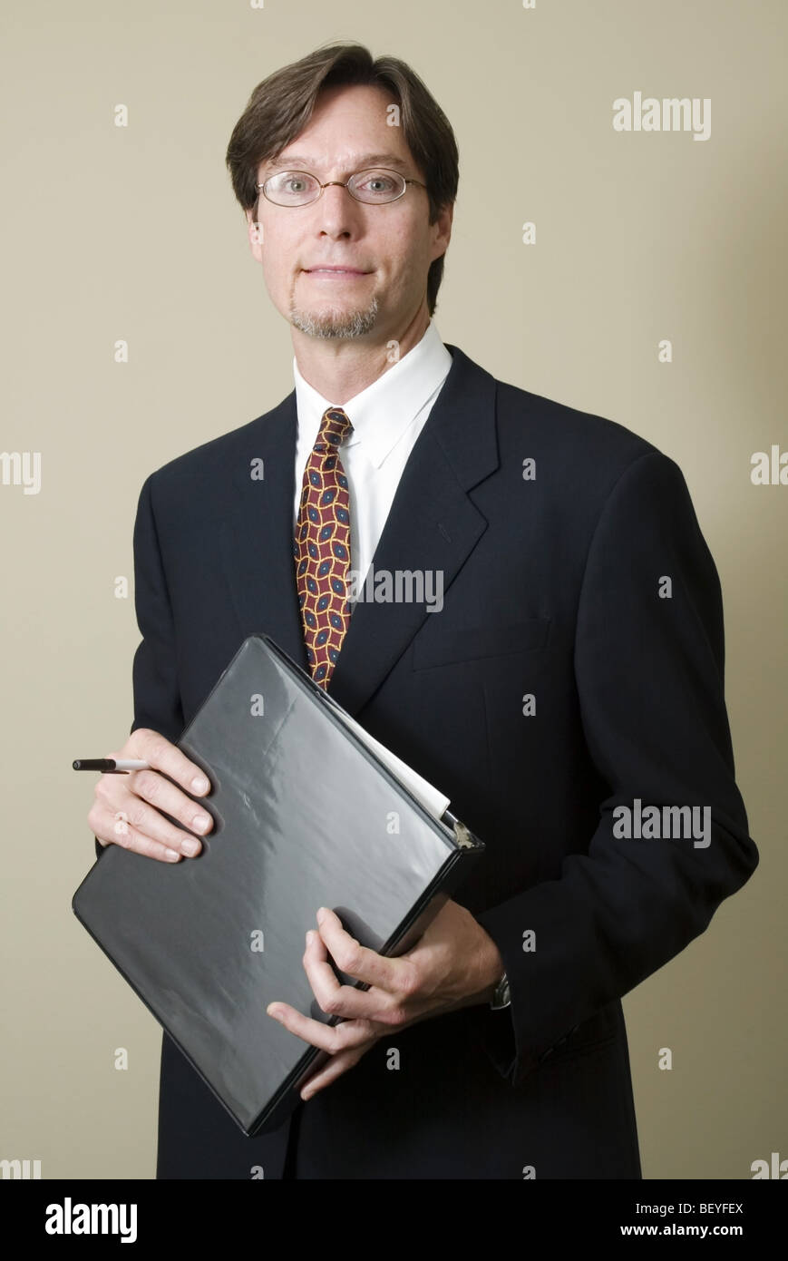 Attorney In Office Setting - Stock Image