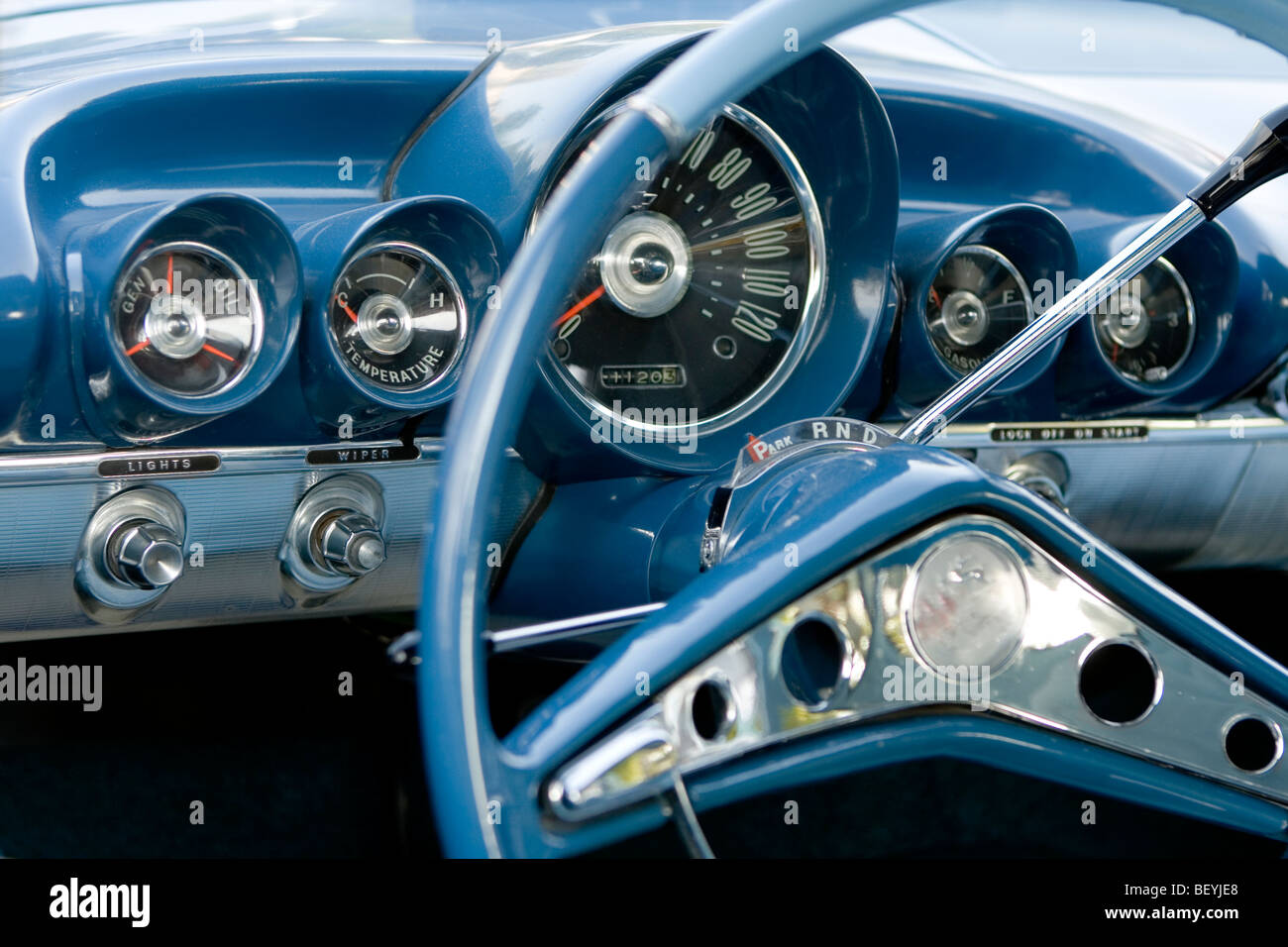 Old Car Dashboard High Resolution Stock Photography And Images Alamy