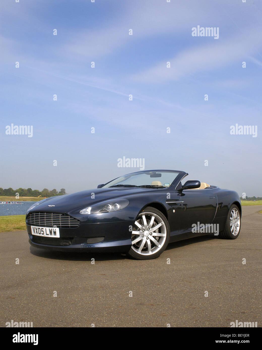 Aston Martin DB9 Volante - Stock Image