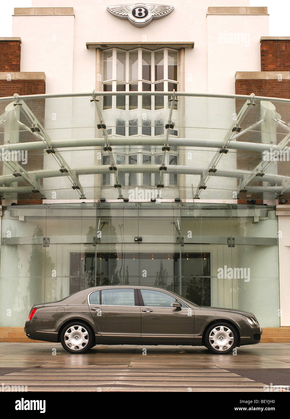 Bentley Continental Flying Spur motor car - Stock Image