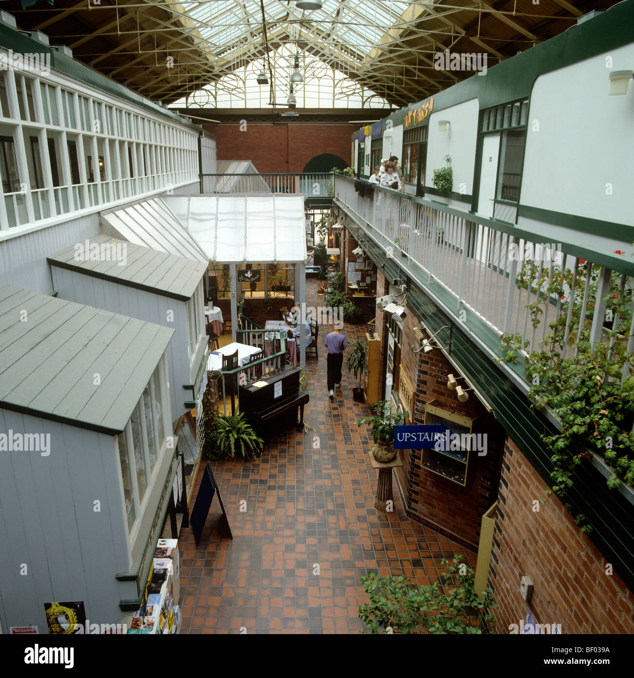 UK, England, Manchester High Street, Craft Centre - Stock Image