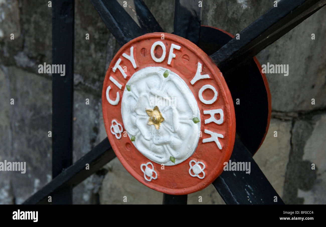 City of York Crest - Stock Image