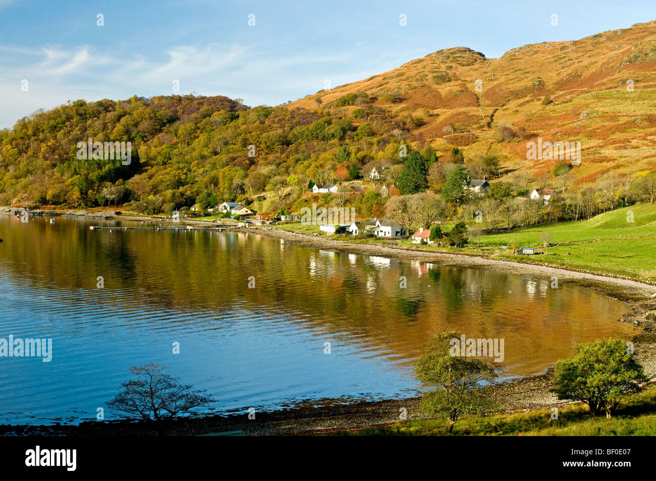 Glenborrodale Kilchoan on the Ardnamurchan Peninsula on the Scottish West Coast Argyll.  SCO 5448. - Stock Image