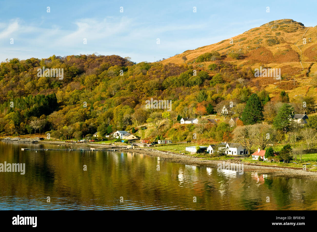 Glenborrodale Kilchoan on the Ardnamurchan Peninsula on the Scottish West Coast Argyll.  SCO 5449. - Stock Image
