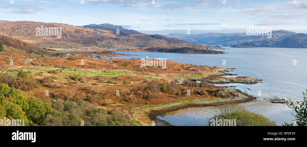 Glenborrodale Kilchoan on the Ardnamurchan Peninsula on the Scottish West Coast Argyll. SCO 5460. - Stock Image