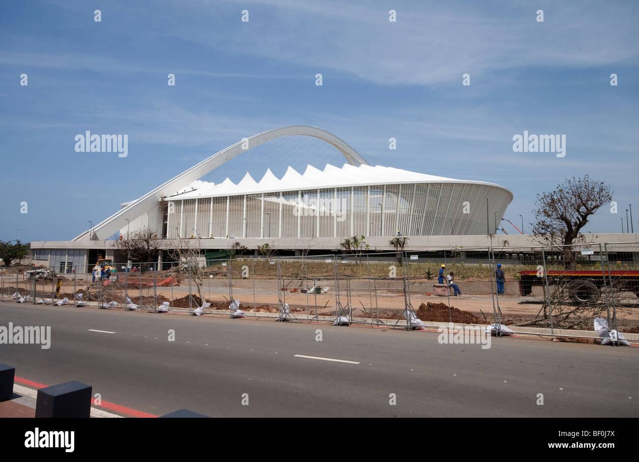 Moses Mabhida stadium in Durban, South Africa - Stock Image