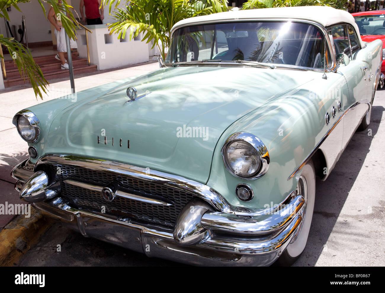 Old car, Miami Beach, Florida, USA Stock Photo: 26448415 - Alamy