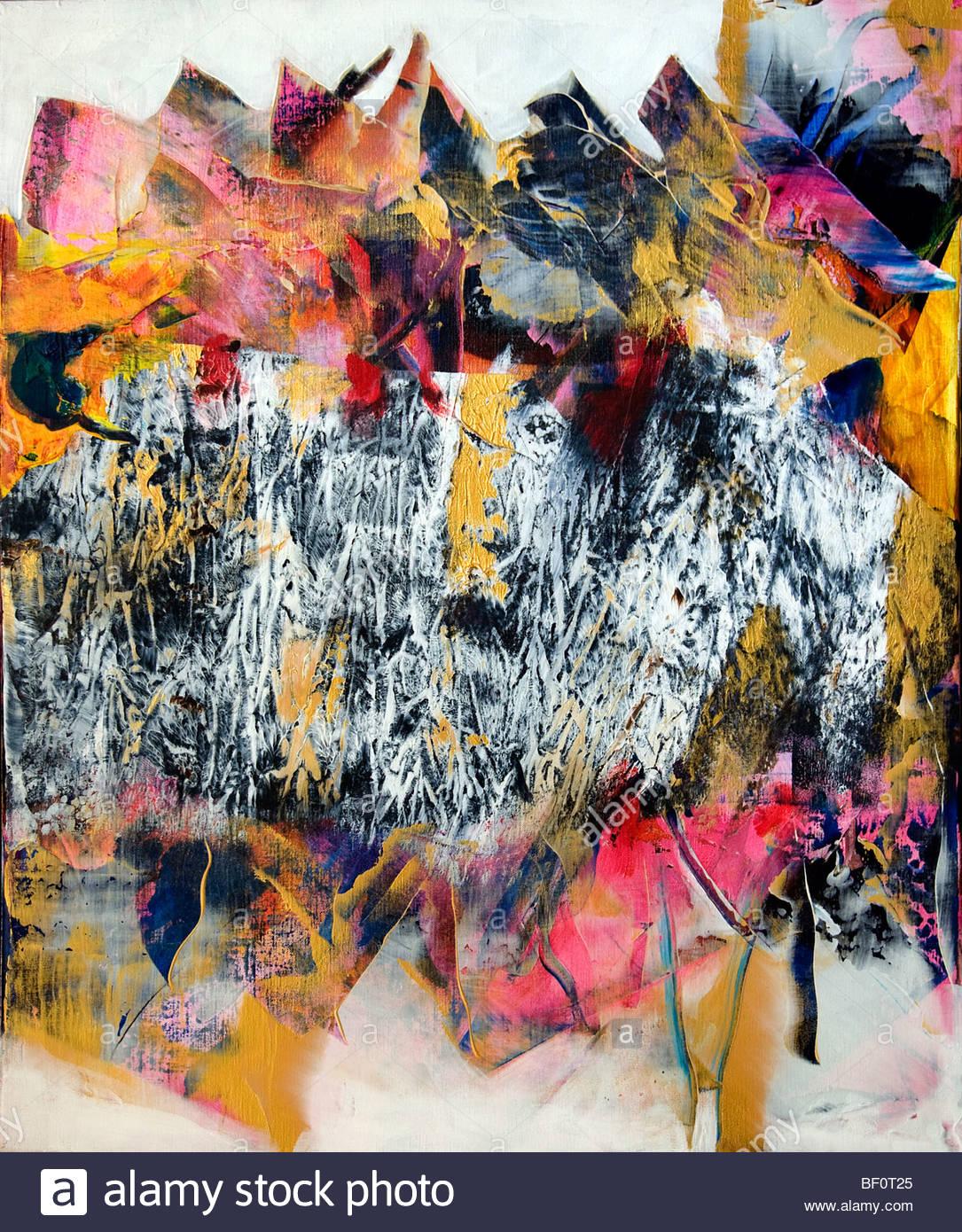 Goede Painter Willem van Scheijndel 1952 Netherlands modern art abstract AP-12