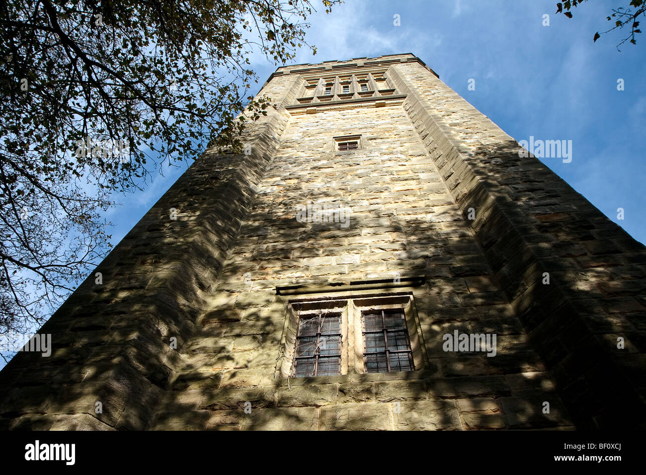 Old water tower no longer used in East Grinstead West Sussex - Stock Image