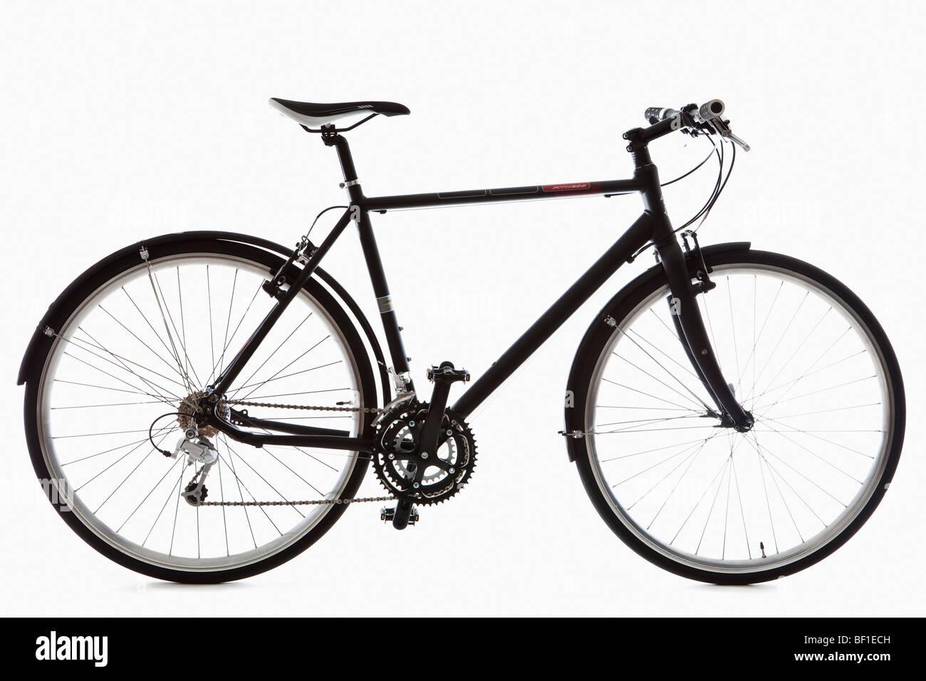 A mountain bike, still life, studio shot - Stock Image