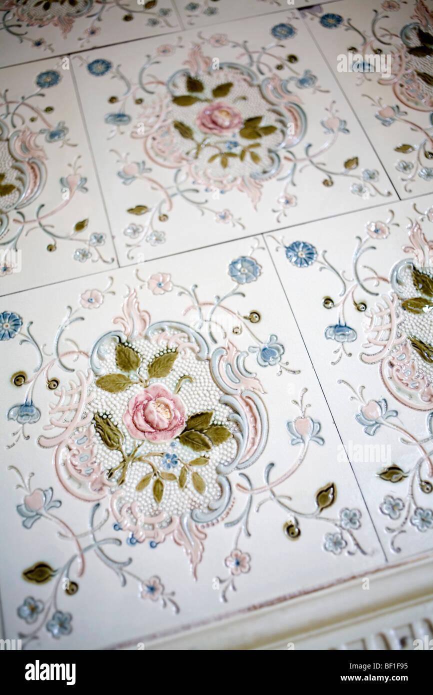 Decorative tiles - Stock Image