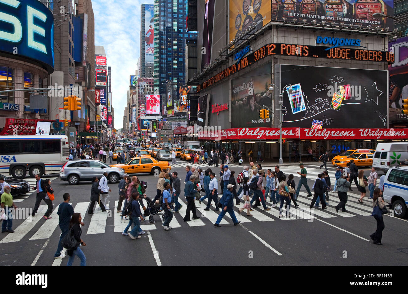 Streets in New York - Stock Image