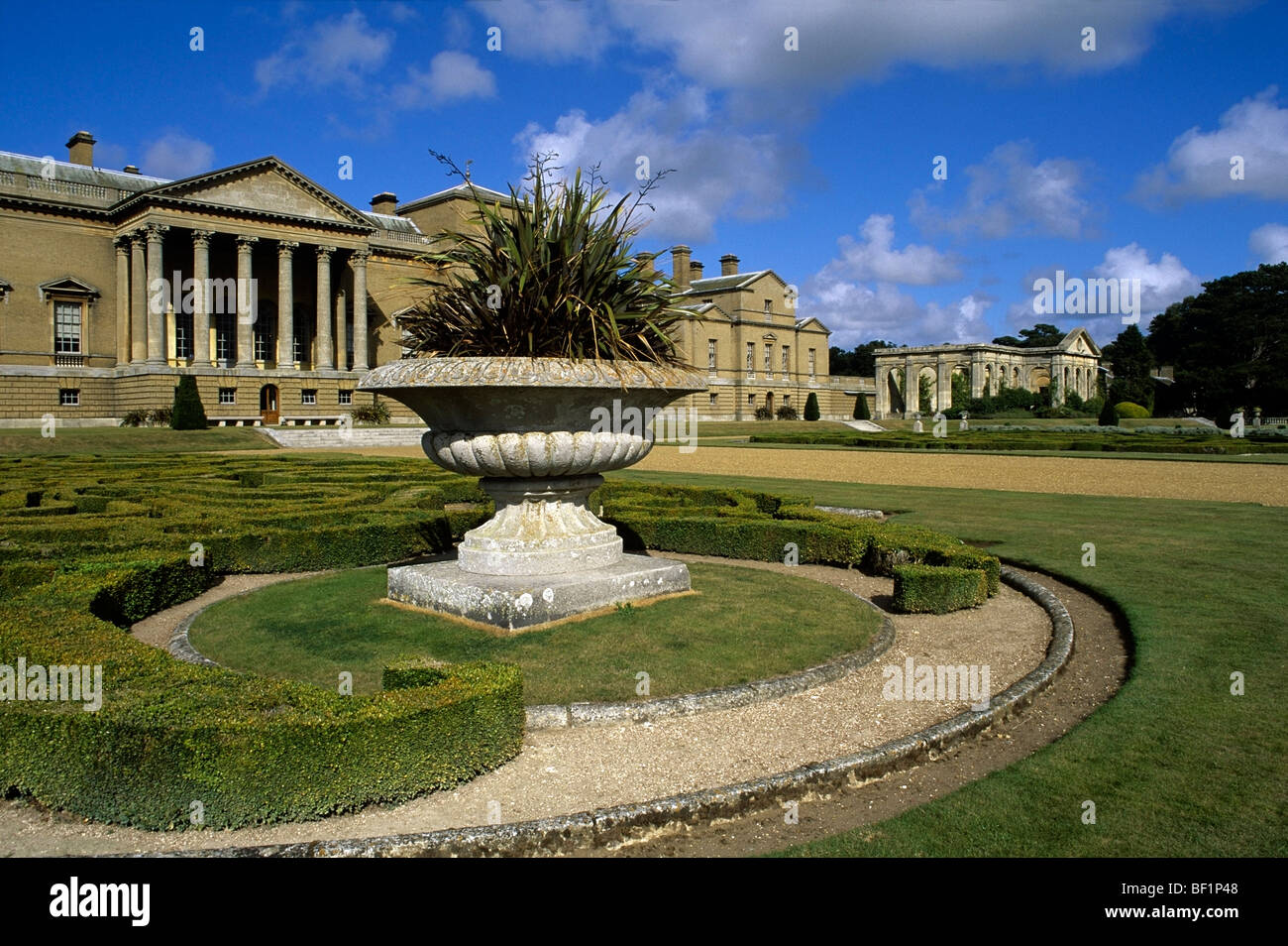 Holkham Hall Norfolk - Stock Image