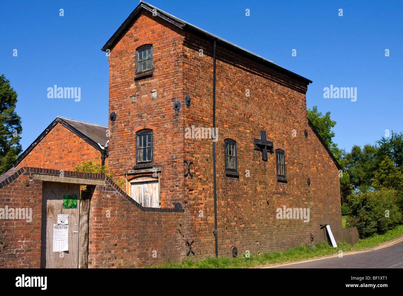 old building in need of restoration - Stock Image