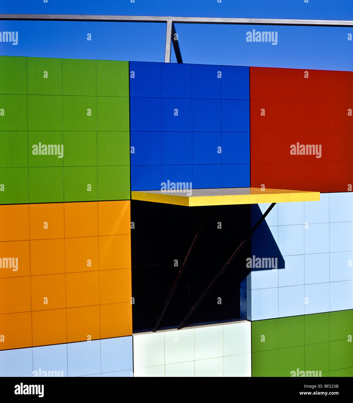 Architectural detail, Australia Stock Photo