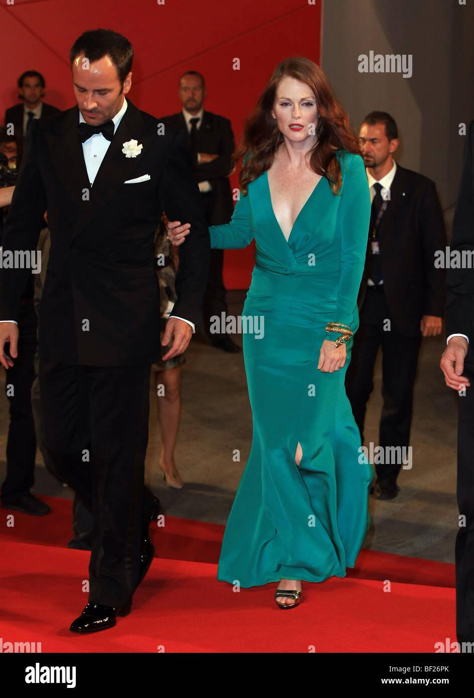 Tom Ford Julianne Moore A Single Man Premiere 66th Venice