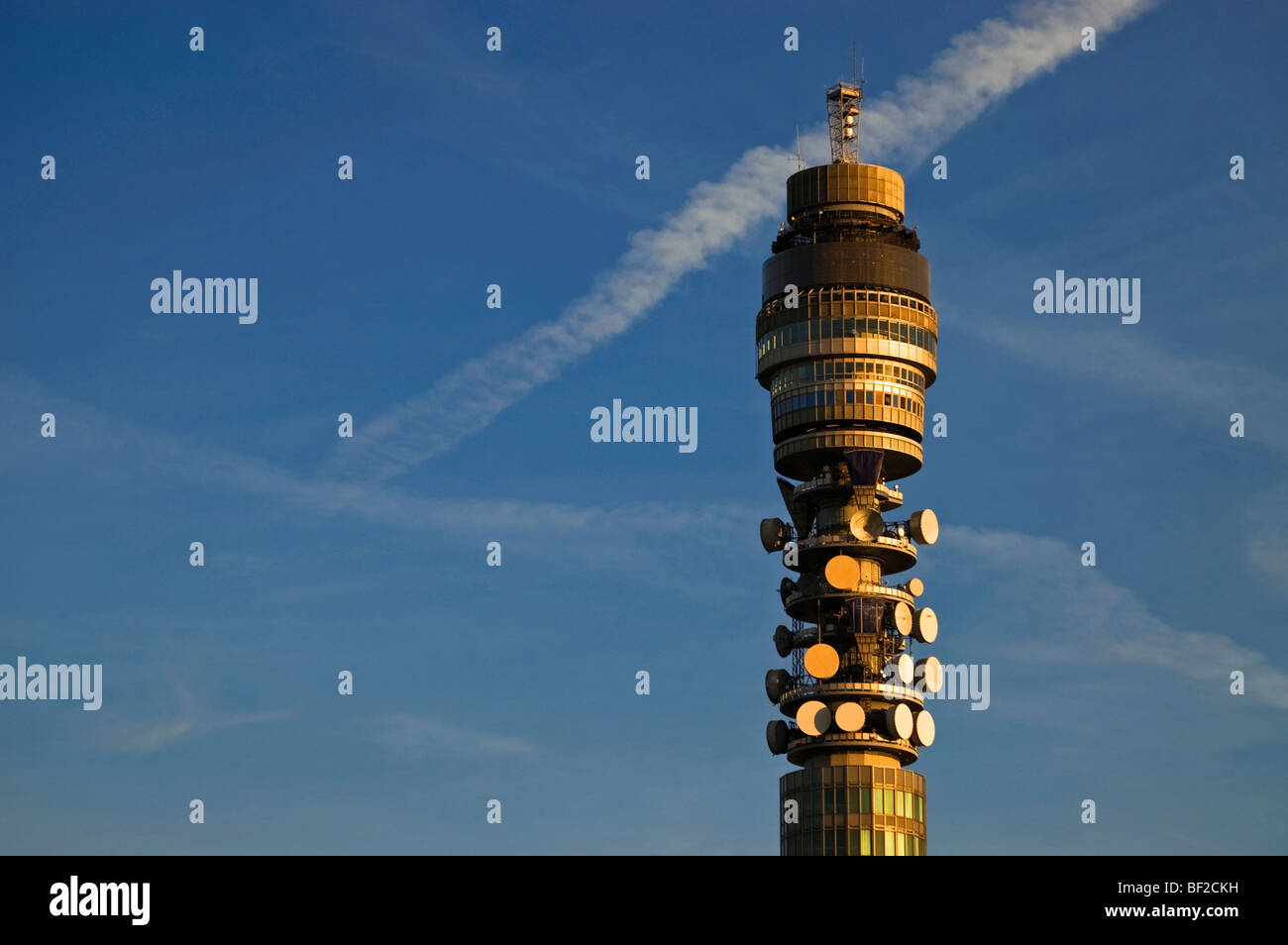 The Post Office Tower, London. - Stock Image