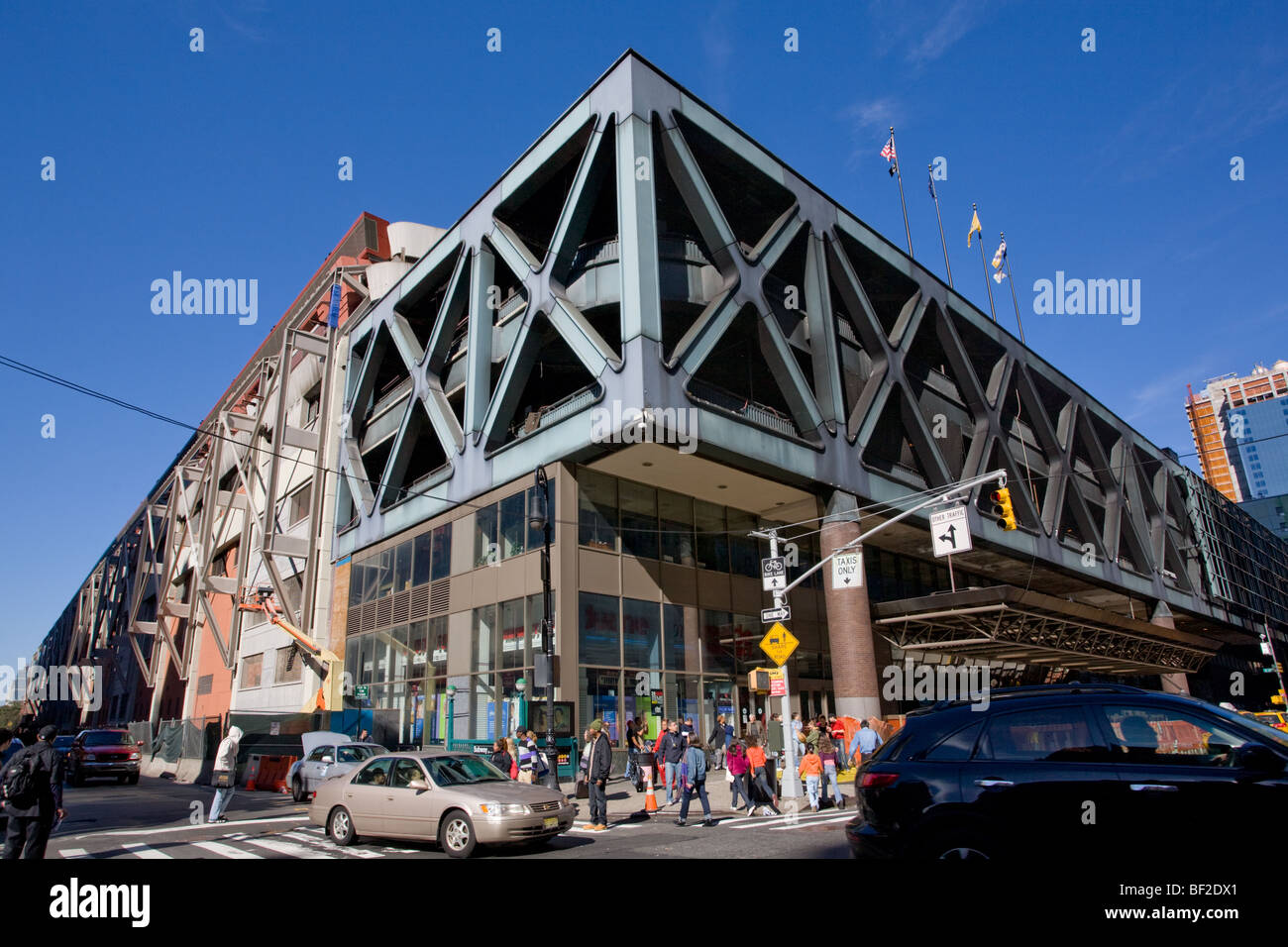 Port Authority Bus Terminal, Hell's Kitchen, Manhattan, New York City - Stock Image