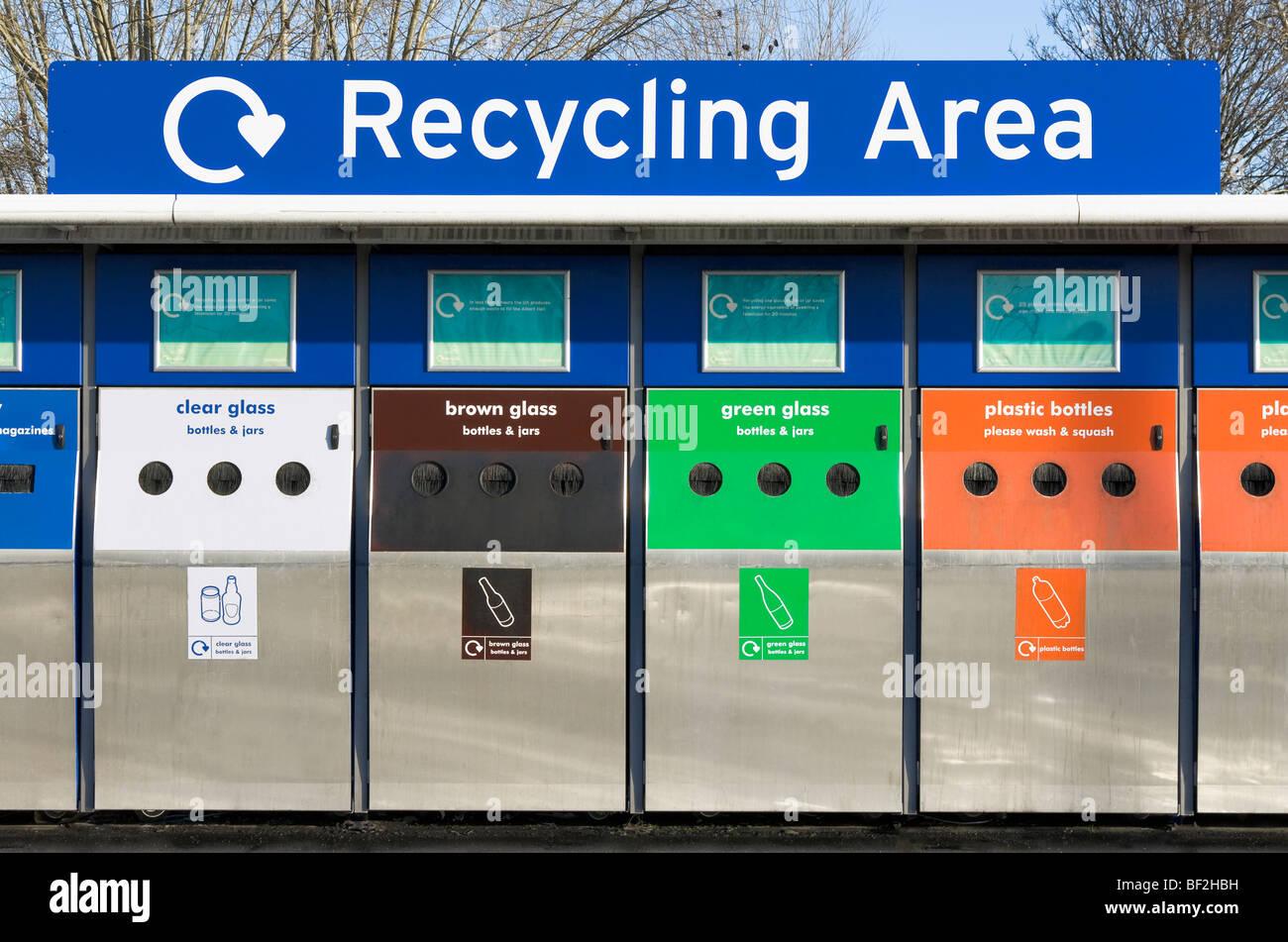 recycle bins paper glass metal plastic stock photos  u0026 recycle bins paper glass metal plastic