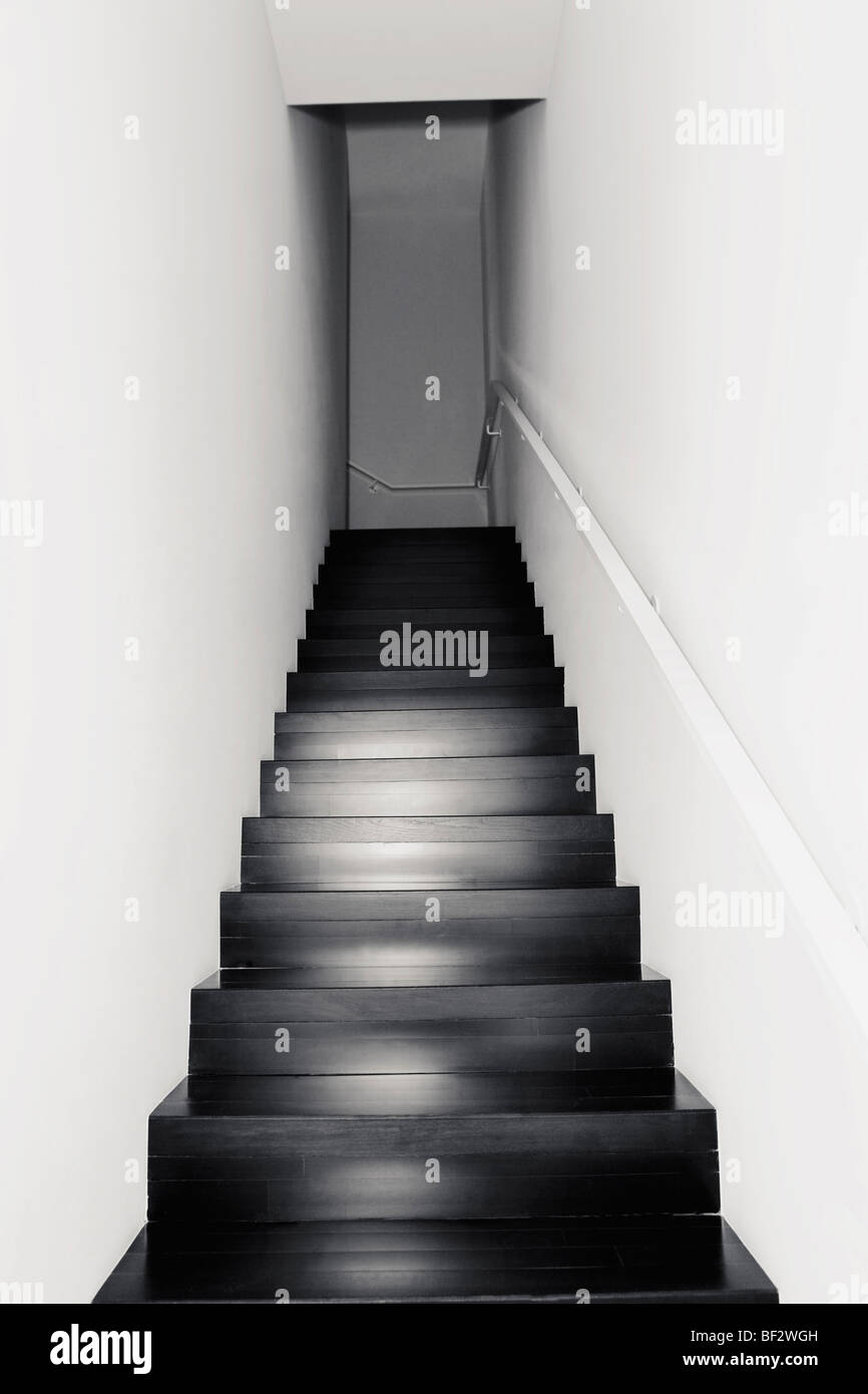 Staircase of a house - Stock Image