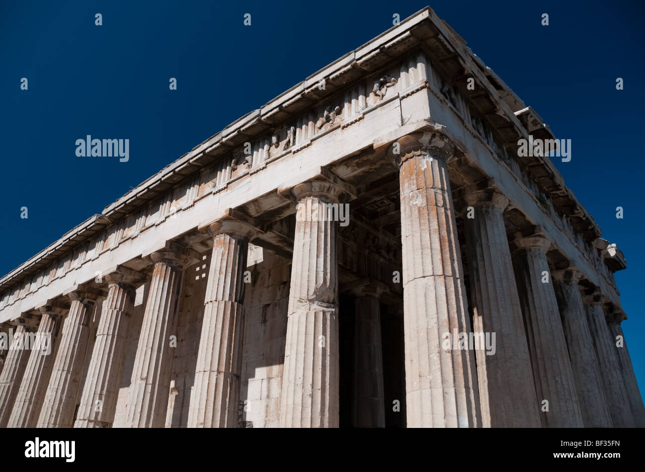 Temple of Ares, Acropolis, Athens, Greece - Stock Image