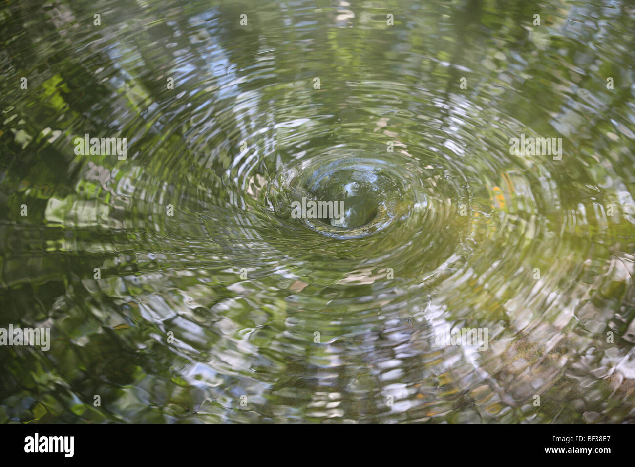 Water Vortex - Stock Image