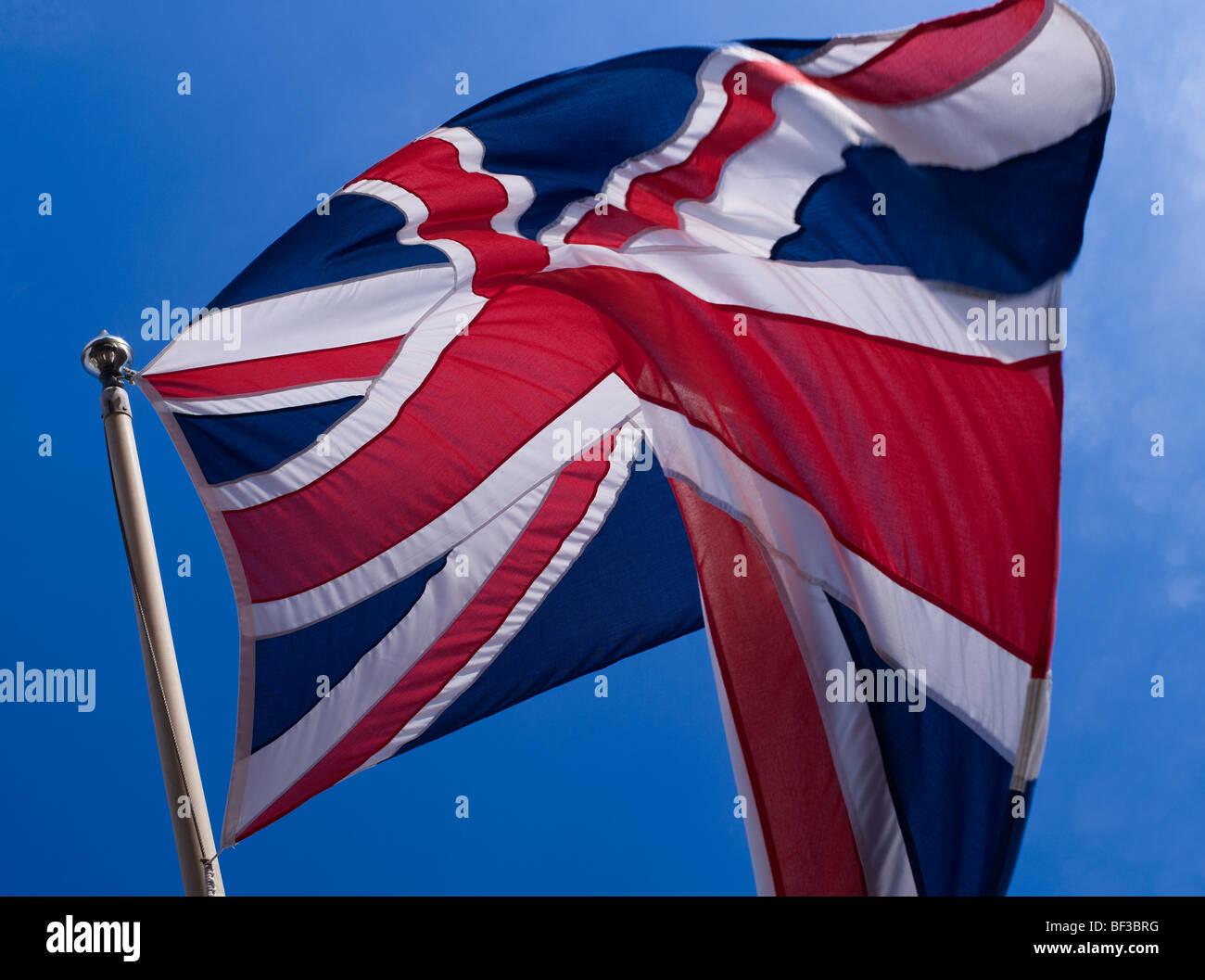 Union Jack flag - Stock Image