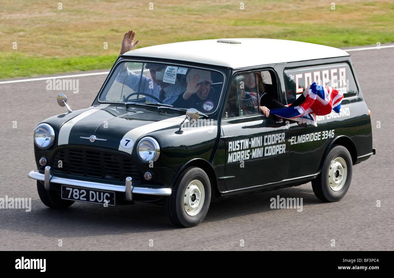 1962 Morris Mini Van Belonging To The Cooper Car Company At