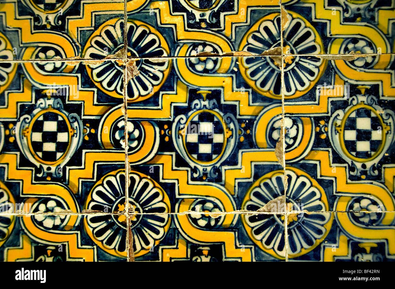 Talavera Spain Spanish tile tiles 1595 1610 Stock Photo 26520249