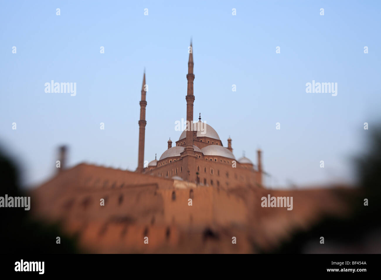Mosque of Muhammad Ali on the Citadel - Cairo, Egypt. - Stock Image