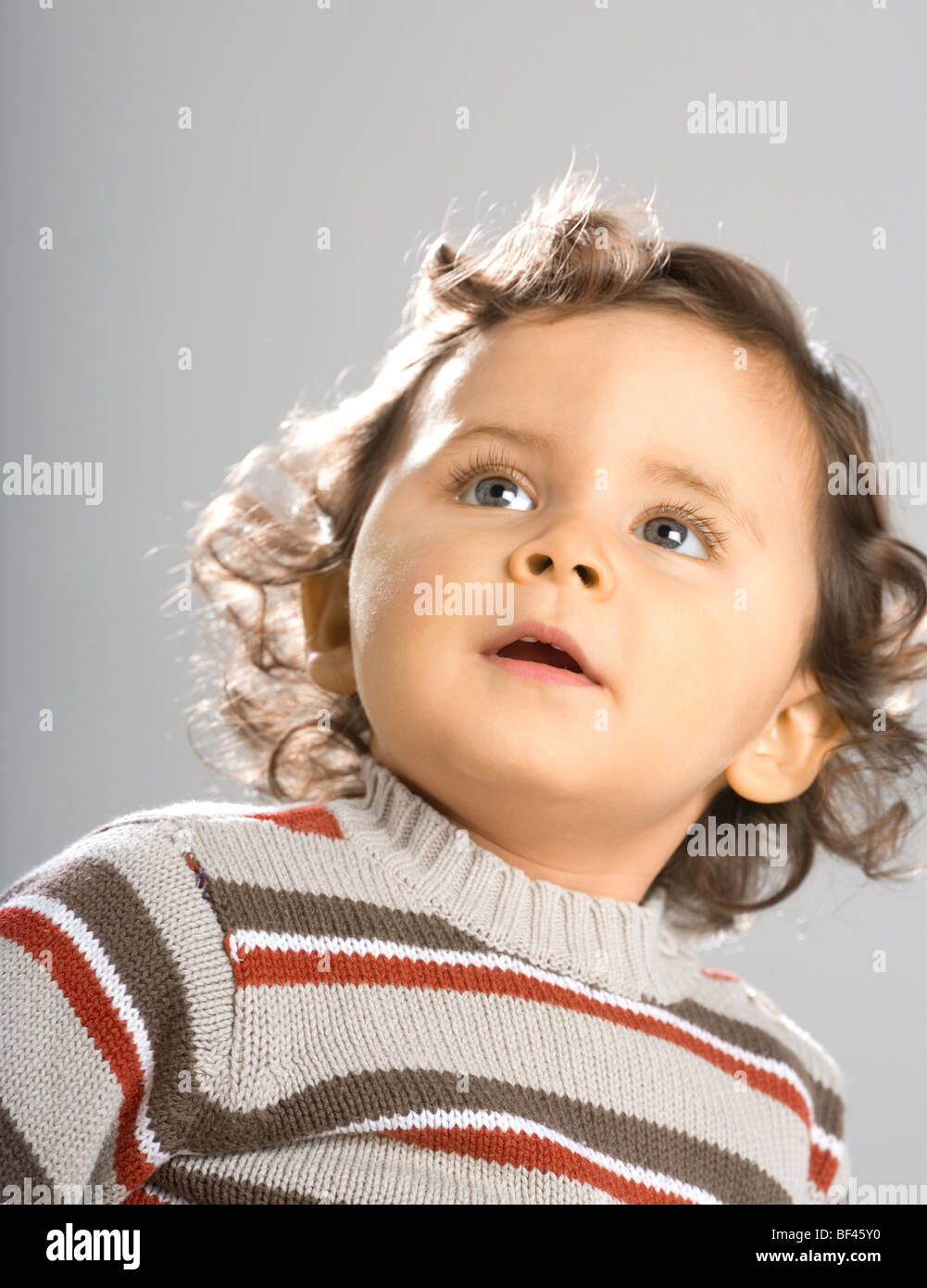 18 month old Toddler - Stock Image
