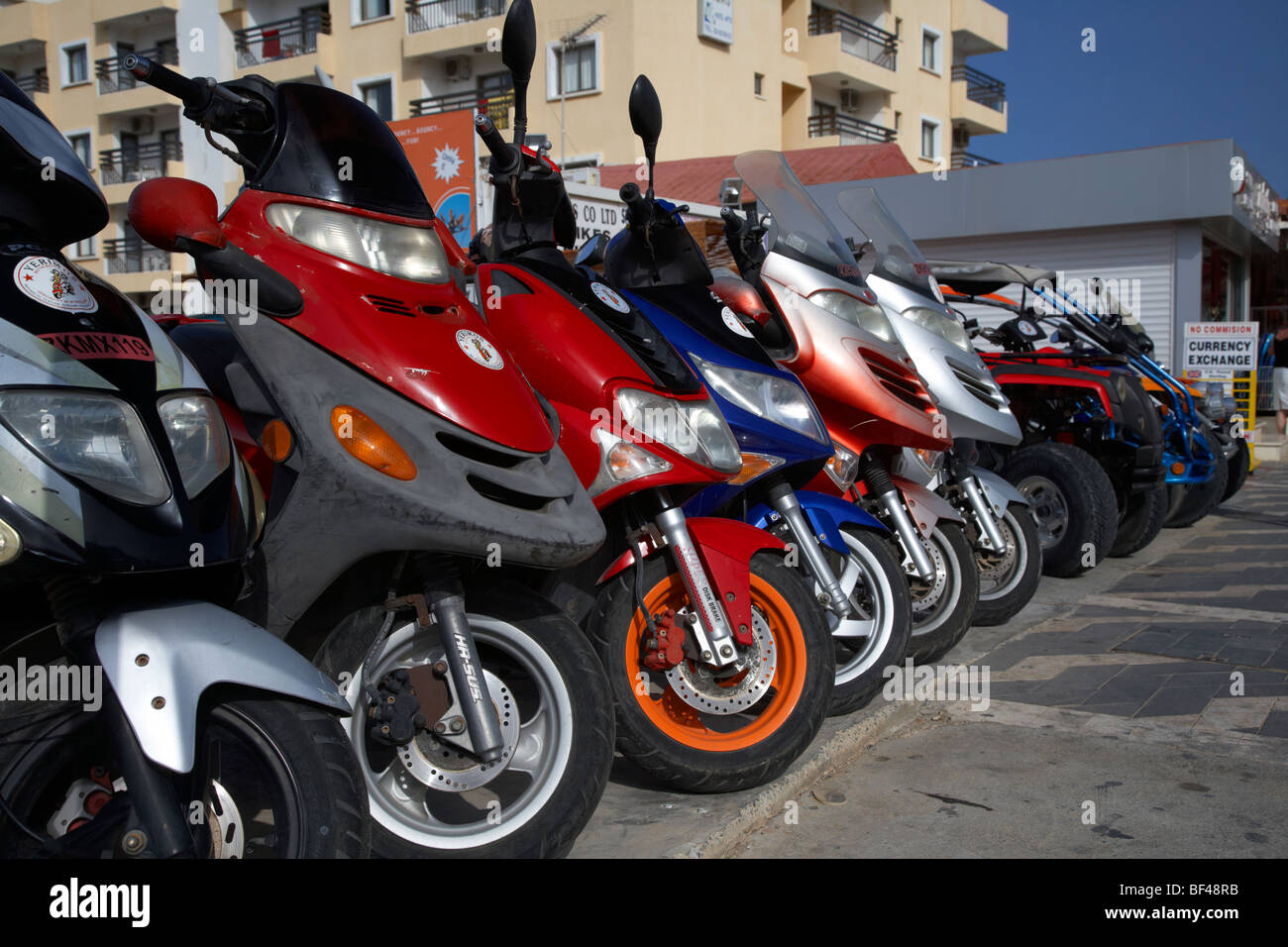 Scooters For Rent Stock Photos Amp Scooters For Rent Stock