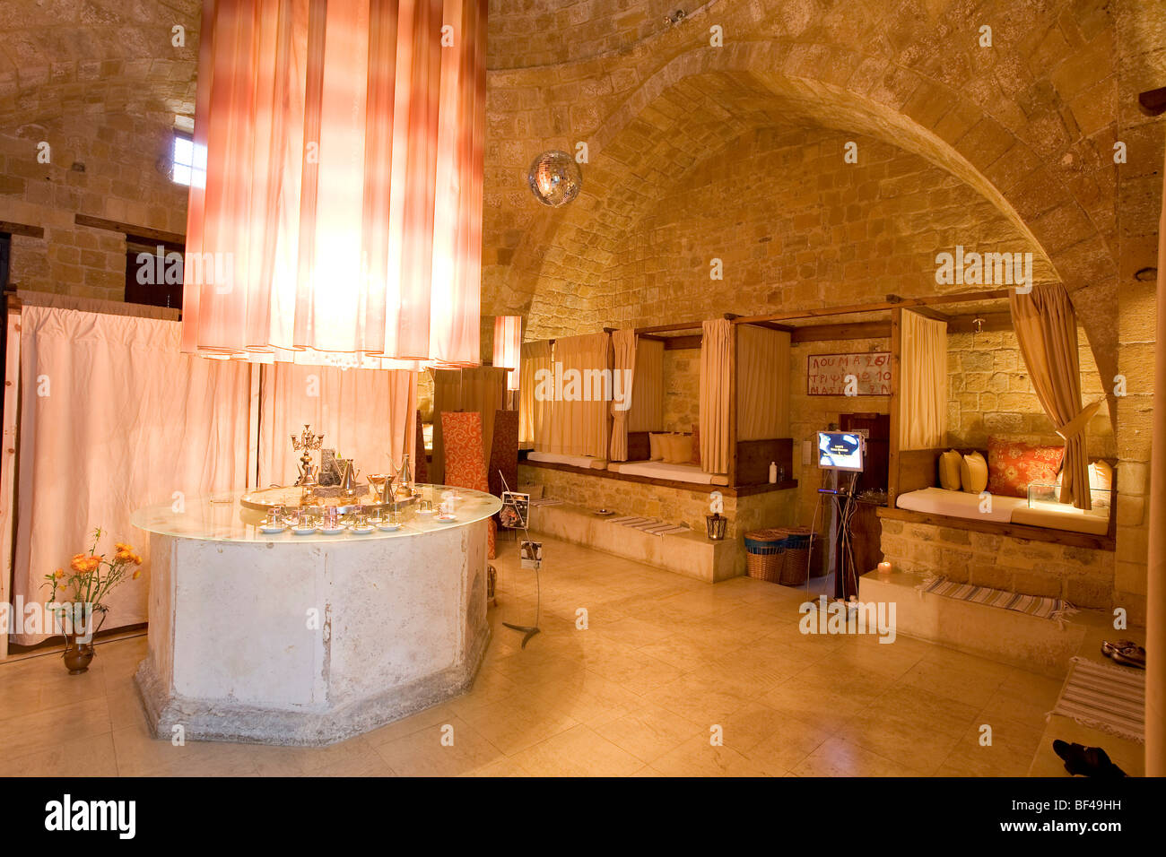 Omeriye baths, hammam, spa, Nicosia, Cyprus, Greece, Europe Stock Photo
