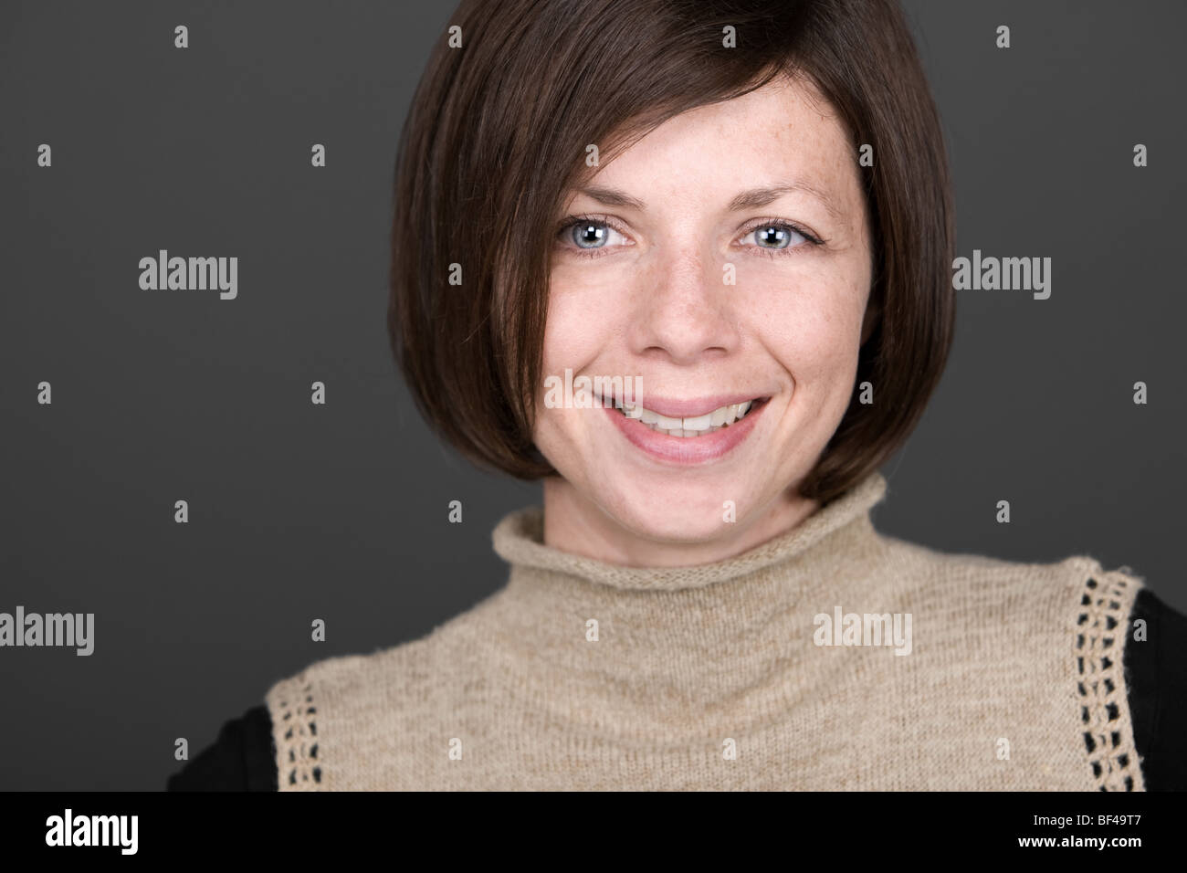 Shot of a Young Attractive Mother - Stock Image