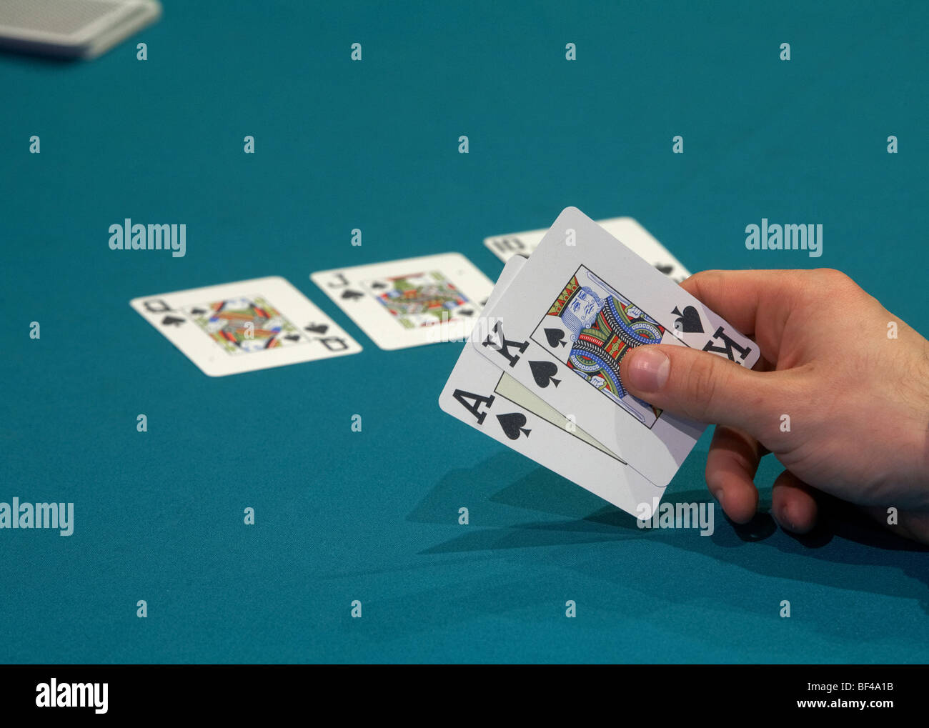 poker game - Stock Image