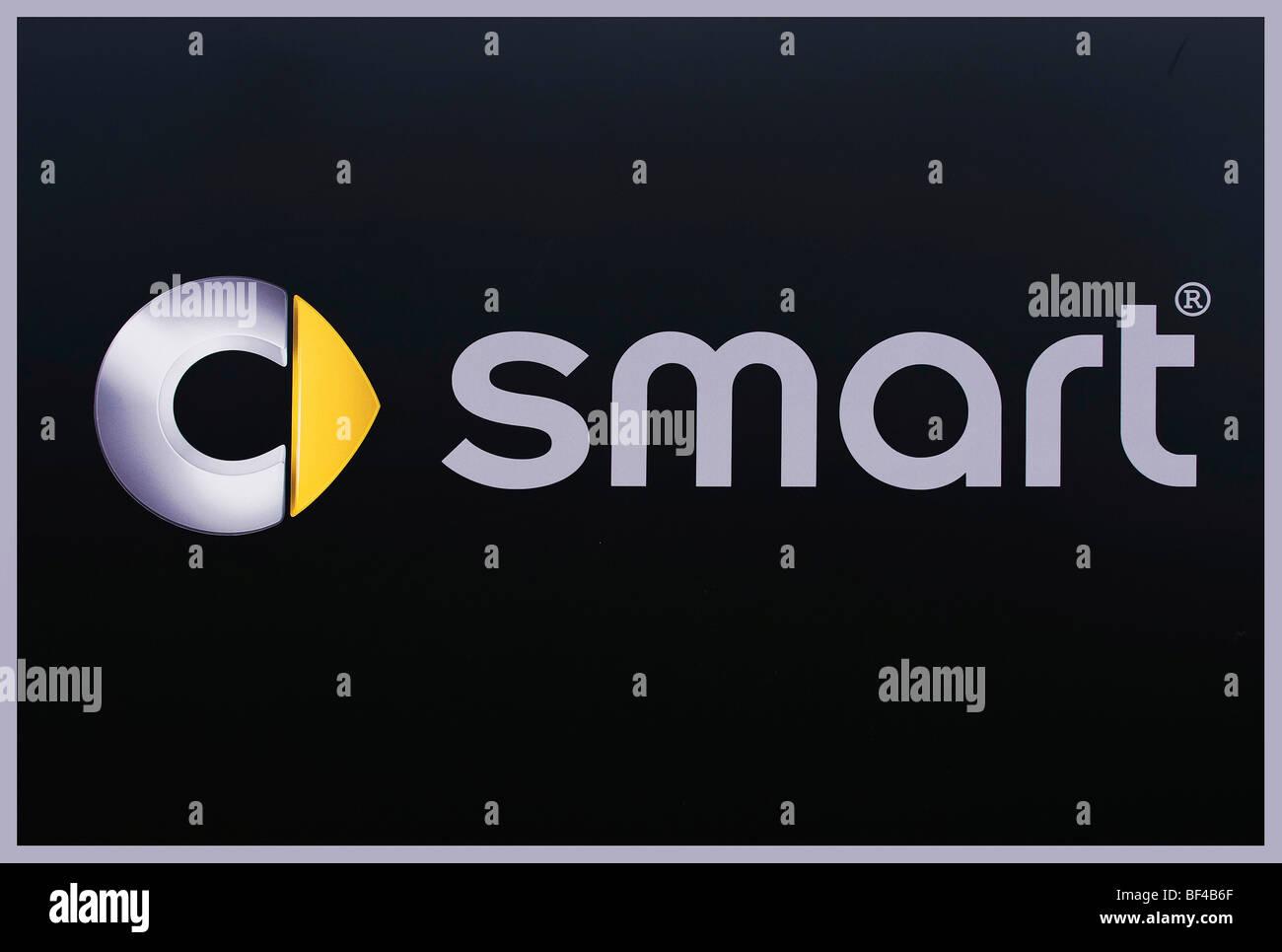 Smart logo for a car brand, Daimler AG - Stock Image