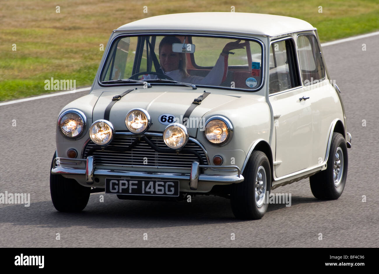 1969 Austin Mini Cooper S Which Appeared In The Movie The Italian