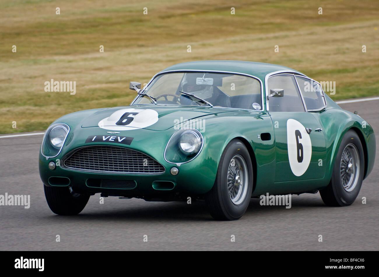 1961 Aston Martin Db4gt Zagato During The Rac Tt Race At The 2009 Stock Photo Alamy