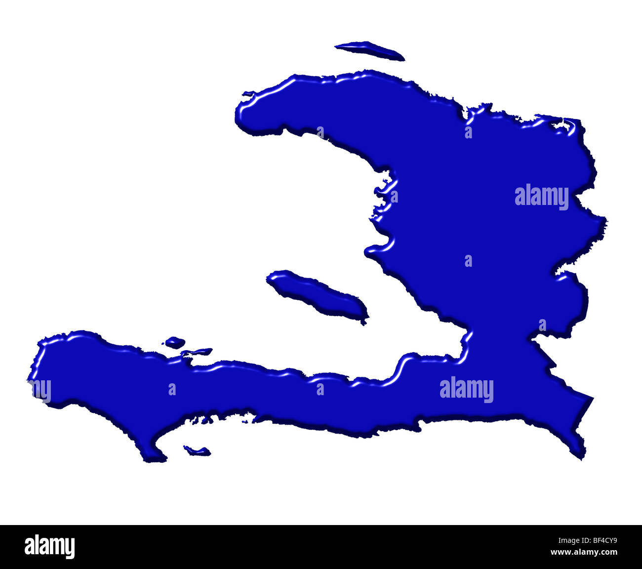 Haiti 3d map with national color stock photo 26528189 alamy haiti 3d map with national color gumiabroncs Image collections