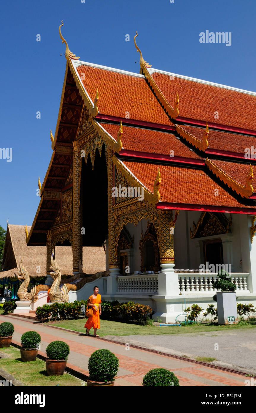 Thailand; Chiang Mai; Wat Phra Singh Stock Photo