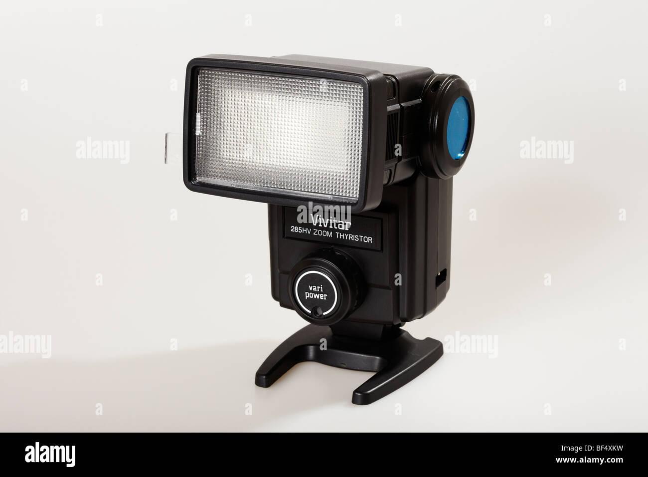 Flashgun or Strobe Light for Photography - Stock Image