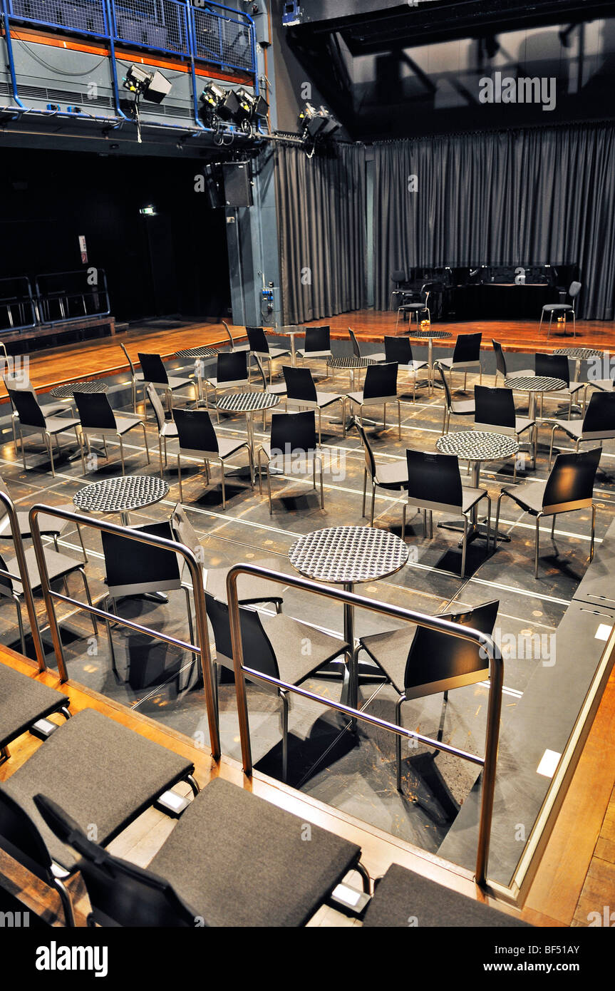 The Black Box at Gasteig Cultural Centre, Munich, Bavaria, Germany, Europe - Stock Image