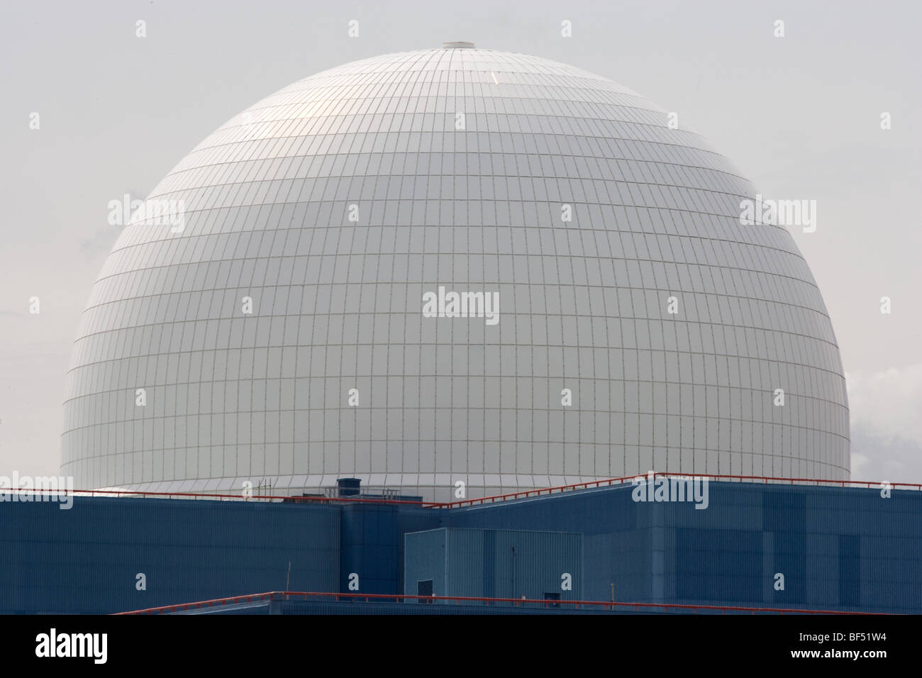 Sizewell Nuclear Power Station in Suffolk Stock Photo