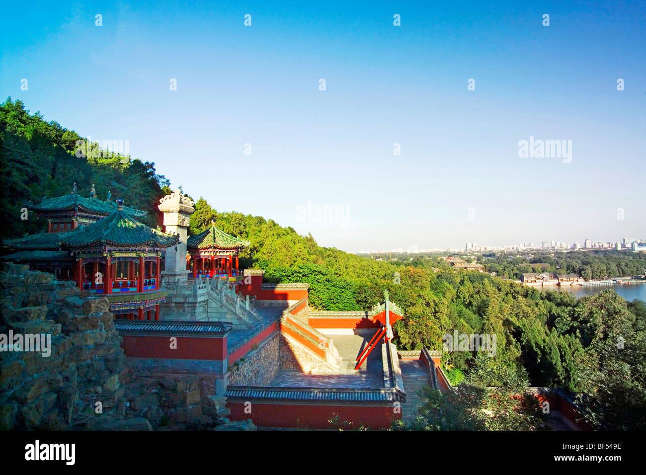 Revolving Archives, Summer Palace, Beijing, China - Stock Image