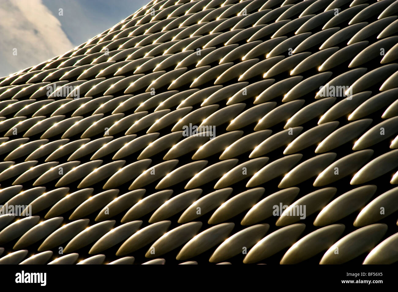 The iconic selfridges building in birmingham city centre covered in the iconic selfridges building in birmingham city centre covered in disks of stainless steel designed by future systems malvernweather Image collections