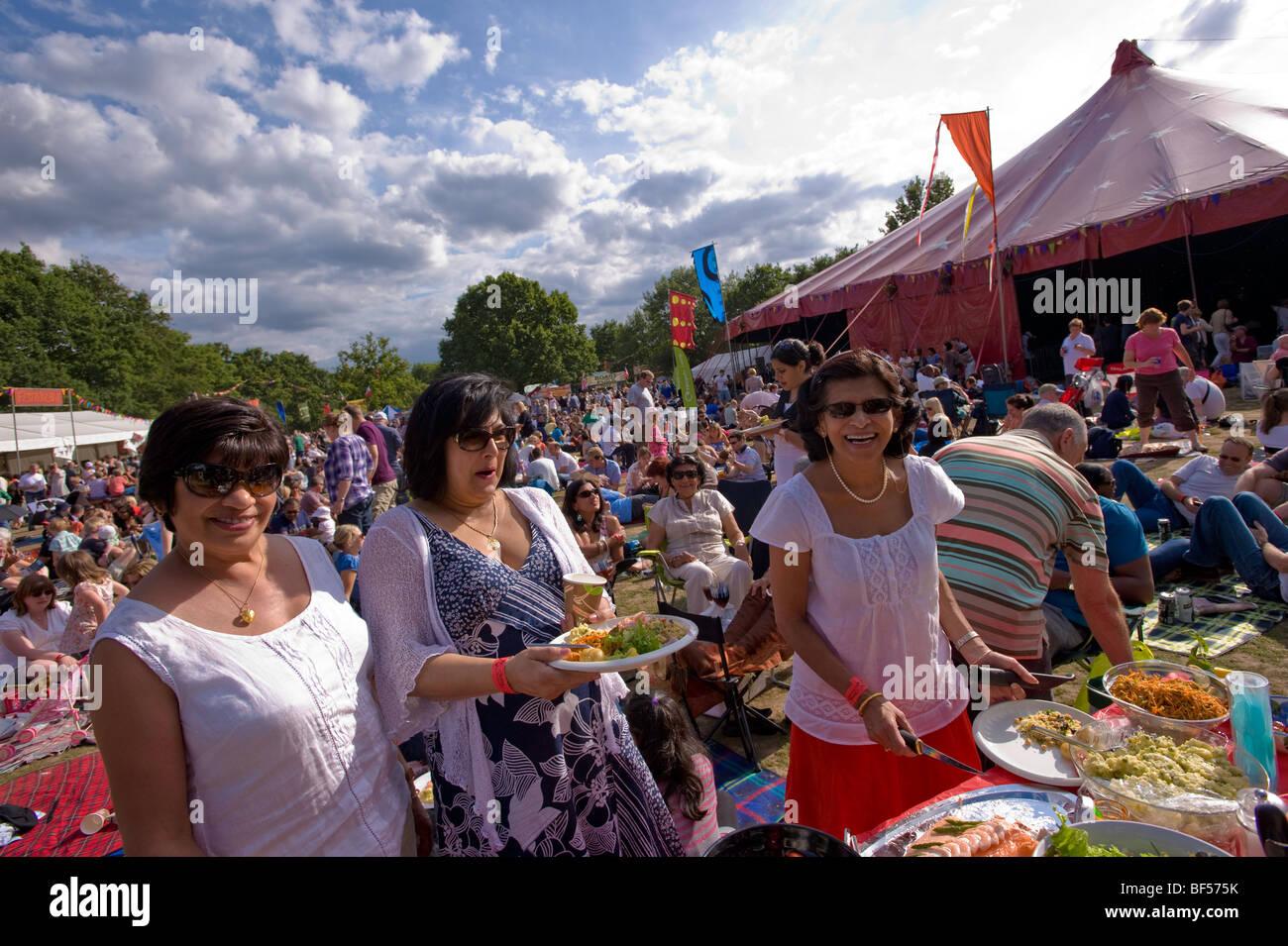 Ealing Jazz Festival 2009, Walpole Park, London, United Kingdom - Stock Image